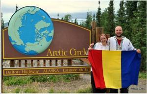 Alex si Andreea la Cercul Polar